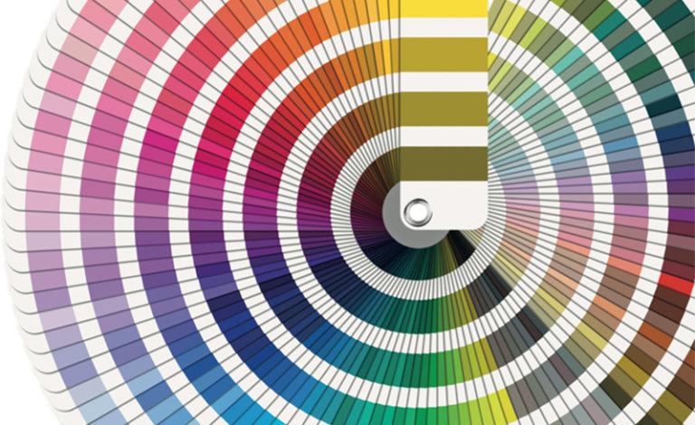 Palette de couleurs ouverte