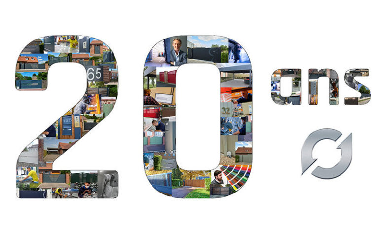 Logo 20 ans Europortail