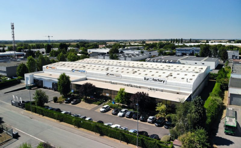 Locaux du groupe Eurofactory