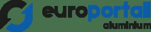 Logo Europortail aluminium